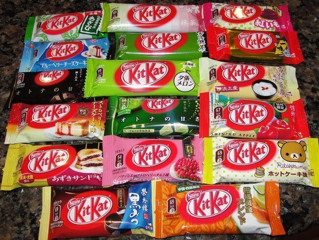 kit kat flavors japan